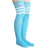 blue womens thigh highs