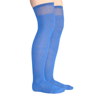 royal blue thigh highs