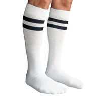 mens socks white/black