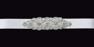 Satin Ribbon Wedding Belt