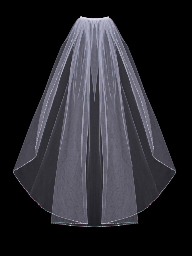 single men in bridal veil Complete your stunning bridal look with the perfect wedding veil at david's   one tier cathedral lace applique comb veil  single-layer tulle drape veil.