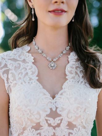 Bridal Necklace Set | NL1754