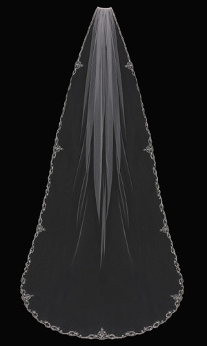 Cathedral Bridal Veil | V1794C