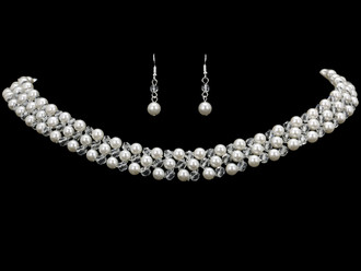 Bridal Necklace Set | NL1858