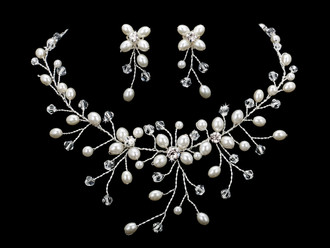 Bridal Necklace Set | NL1859