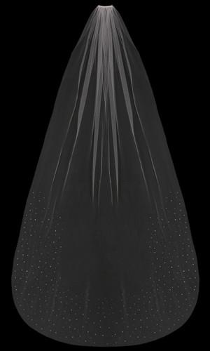 Cathedral Bridal Veil | V1891C