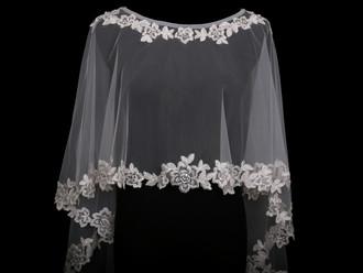 Bridal Capelet | CP1825