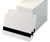 Lo Co Mag Stripe PVC Cards - CR80, 30 Mil*