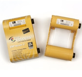 Zebra Metallic Gold Monochrome Ribbon - for Series 3 Printers
