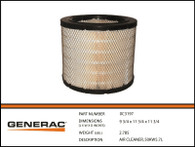 AIR CLEANER, 50KW5.7L