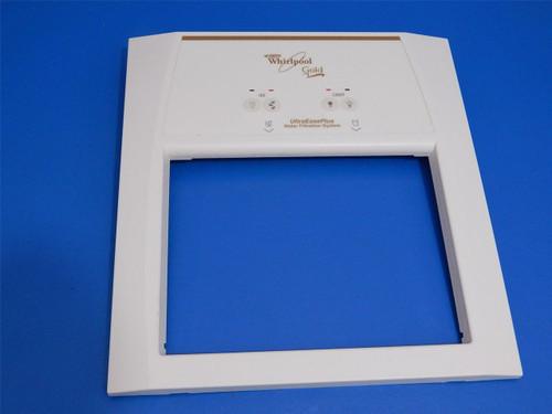Whirlpool Gold SxSide Refrigerator GD5SHGXKT02 Dispenser Cover Buttons 2207295T
