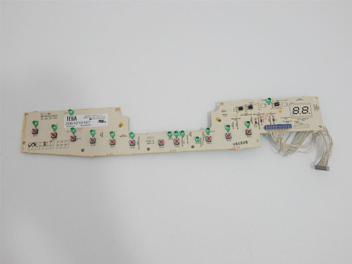 GE Dishwasher GLD5560L00SS User Interface Control Board 165D7803P001