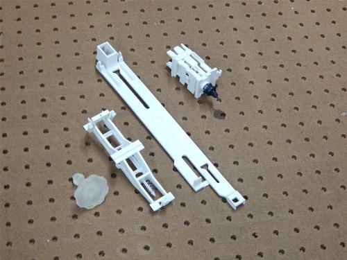 Whirlpool Dishwasher DU930PWSQ1 Dispenser Actuator & Draw Bar 3369505 3369448