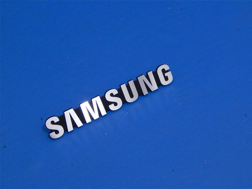Samsung 3 Door Bottom Mount Refrigerator RF265ABBP Emblem Nameplate