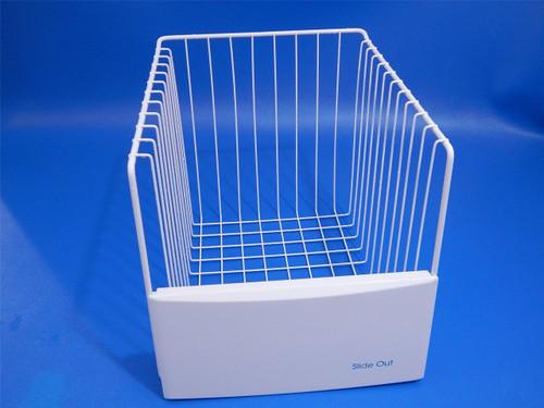 KitchenAid Side/Side Refrigerator KSRS25QGWH01 Freezer Slide Out Basket 2181765