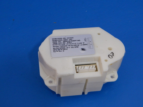 Whirlpool Side/Side Refrigerator ED5LHAXWS00 Ice Dispenser Auger Motor 2315544
