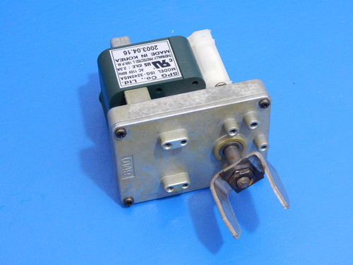 Frigidaire SxSide Refrigerator FRS26F4CW0 Ice Dispenser Auger Motor 240326903