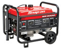 SNAP-ON 3000W/3500W Portable Gas Generator Carb 6.5 HP - 870826