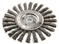 """6"""" KNOTTED WIRE WHEEL BRUSH - KH307"""