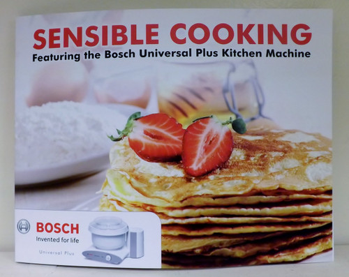 "Bosch Cookbook ""Sensible Cooking"""