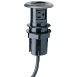 Retractable Work Surface Receptacle (RWSR)