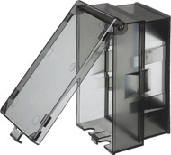 Low Profile IN-and-OUT Vertical Cover - Clear (60VC)
