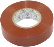 "3/4"" x 66ft Brown Vinyl Electrical Tape (3460BRT)"