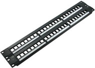 48 Port Blank High Density Patch Panel (TA-1007P-48HD)