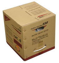Cat6 UTP Stranded CMR- White (1000FT. Box) (234PR6SWH-1RB)