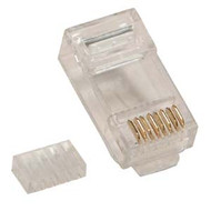 RJ45 Cat6 Plugs For Solid Round Wire (TA-9112-6)
