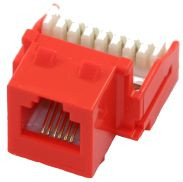 Cat 3 RJ12 110 Type 90 Keystone - Orange (TA-3121OR)