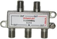 4 Way One Port Power Pass Splitter (S-214)