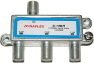Digital Ready 3 Way 1 GHz Cable Splitter (S-13DR)