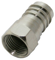RG-6 Quad F-Type Crimp Connector (SFC-6Q)