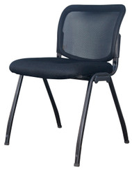 Visitor Chair D061 - Deluxe Meshback In Black