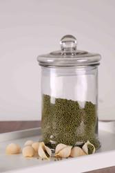 Set of 3Pcs 5000ml Vintage Glass Jars