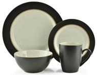 Thomson Pottery 16 Piece Dinnerware Set - Kensington Coffee