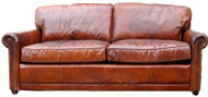 Hemmingway Sofa In Leather (Vegetable Brown)