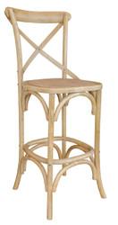 Allan Bar Chair in Natural Finish