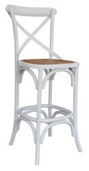 Allan Bar Chair in White