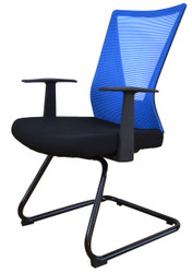 Visitor Chair HT-7068DEX in Blue