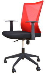 LB Chair HT7068BEX in Red