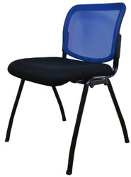 Visitor Chair D061 in Blue