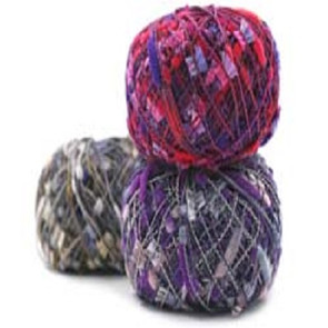Charm is part of the large collection of component yarns offered by Trendsetter Yarns.