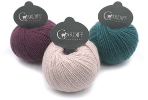 Cardiff Cashmere  Yarns Single