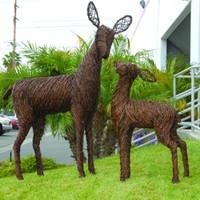 """Grapevine Deer - Fawn 41"""""""