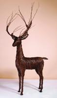Grapevine Deer Standing Buck