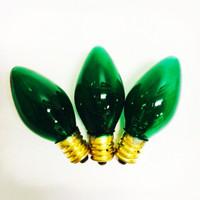 C7 Green Bulbs 5 Watts - Box of 25 Replacement Bulbs