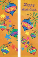 Cheerful Ornament Banners
