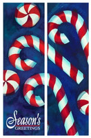 Giant Candy Cane Banners